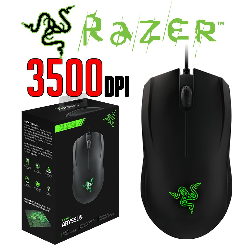 12d51b088ce Razer Abyssus 2014 Ambidextrous Gaming Mouse - Mice & Mouse Pads ...